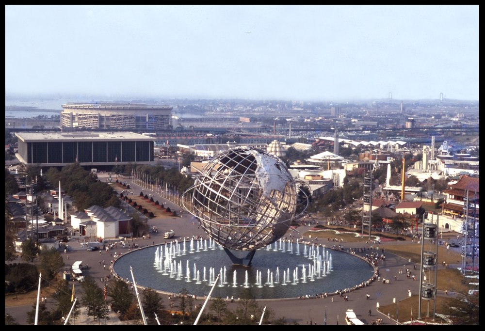 !964-1965 Worlds Fair Flushing Meadow Park Queens NYC from original 35mm negative
