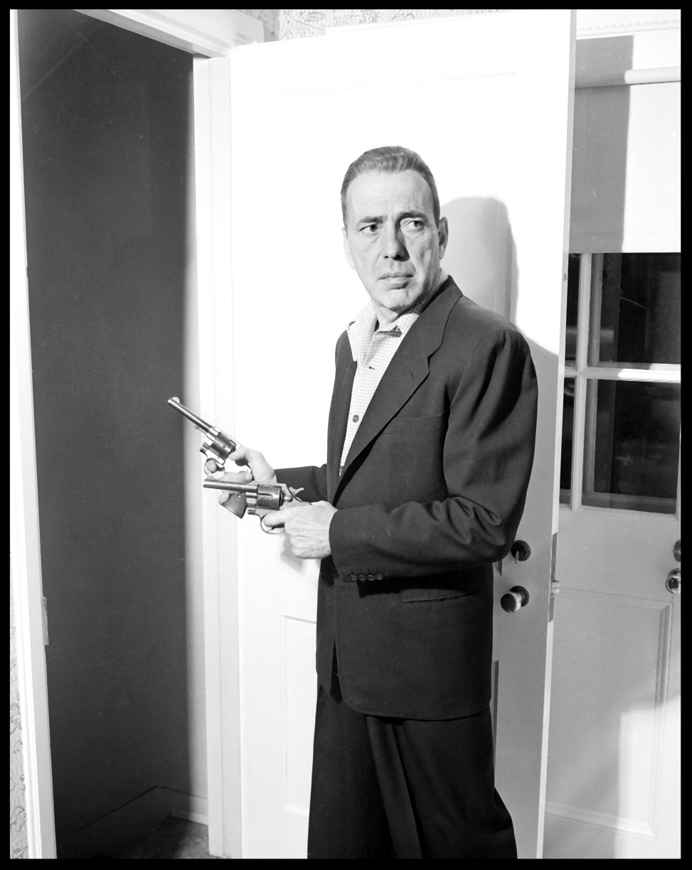 Humphrey Bogart c.1950 from original 4x5 negative