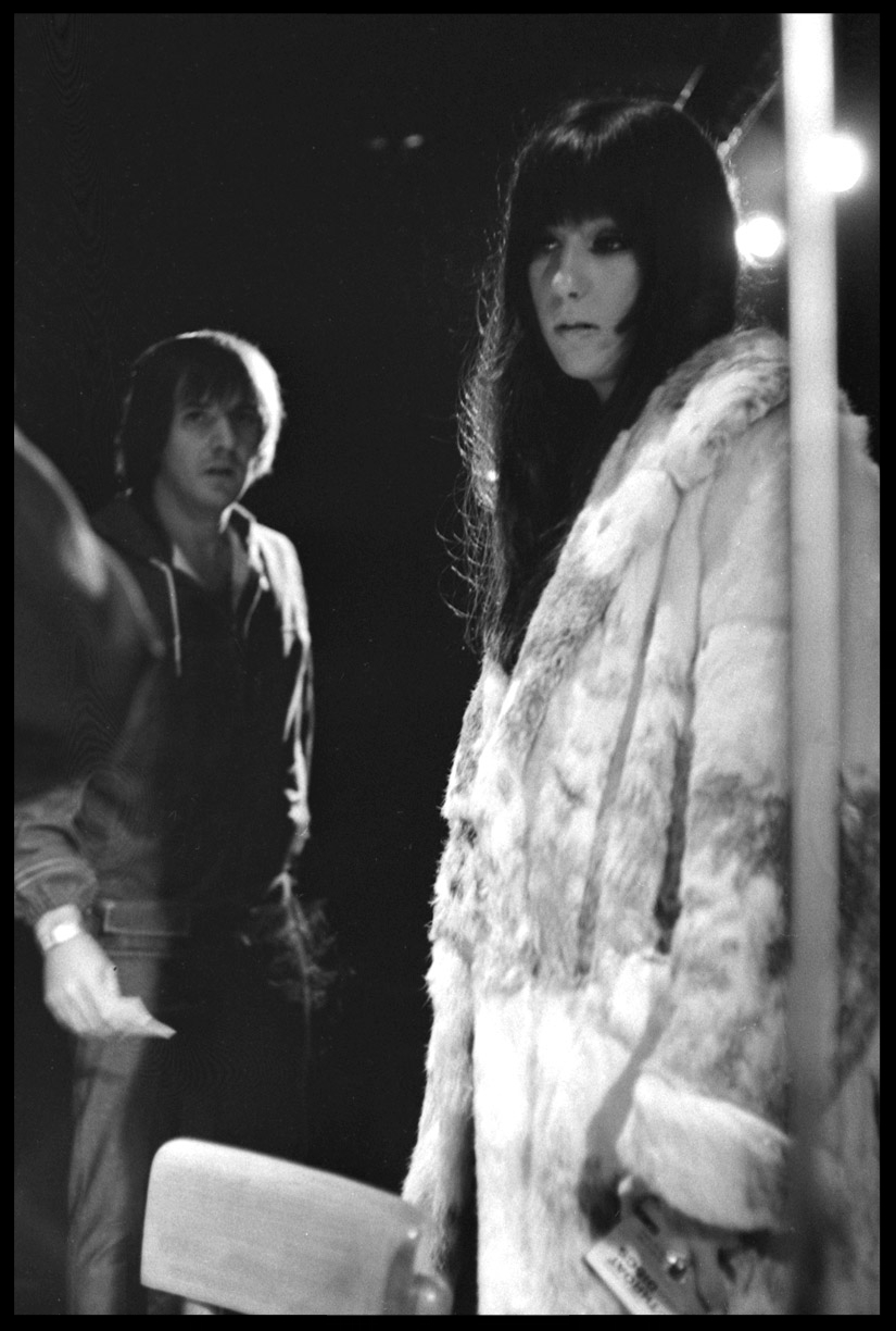 Sonny & Cher c.1968 from original 35mm negative