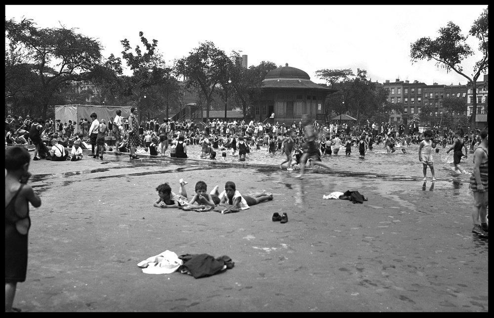 Tompkins Square Park c.1930 from original 5x7 negative #tompkinssquarepark #vintagenycphotos