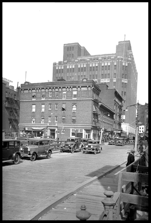 Hoty & Schermerhorn Brooklyn NYC c.1990 from original 5x7 negative #mta #nycmta #oldbrookynphoto