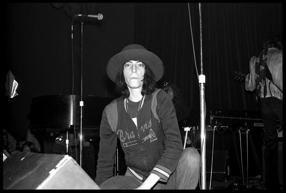 Punk Pioneer & Rock Legend Patti Smith c.1975 from the original 35mm negative