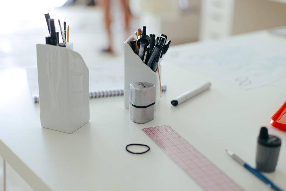 Décoration projet miluQi Studio