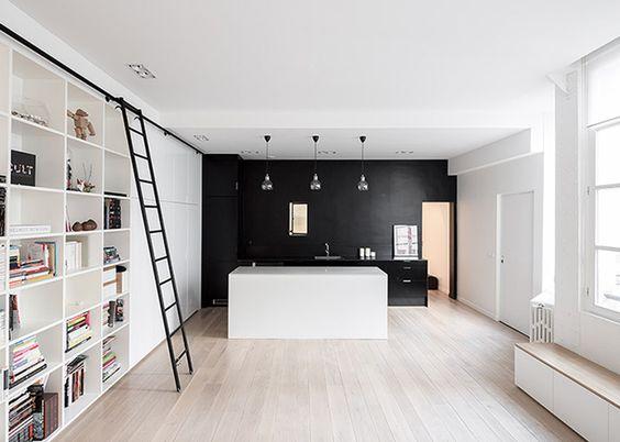 Le noir en décoration_pour donner de la perspective_miluQi Studio_Décoration et Architecture Intérieur à Montpellier