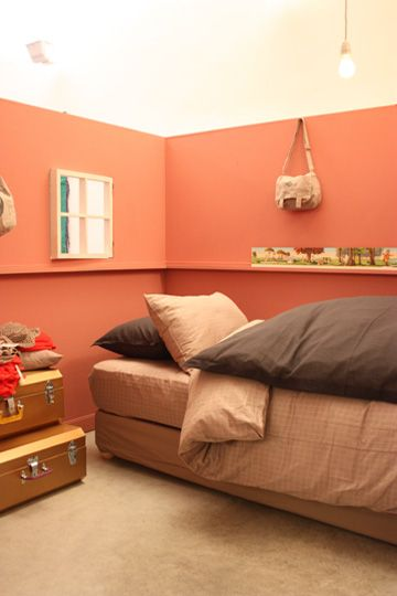 Une nuance poudrée pour une chambre de petite fille - Et une nuance plus soutenue fonctionnera davantage pour une chambre de garçon.