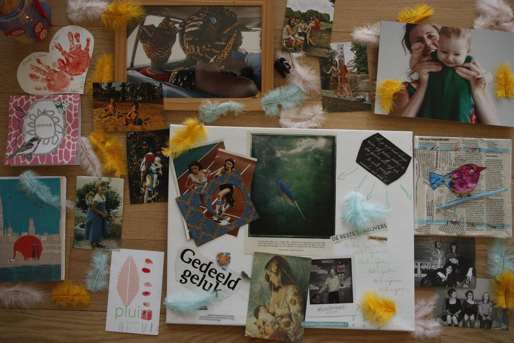 Collage van mijn passies...