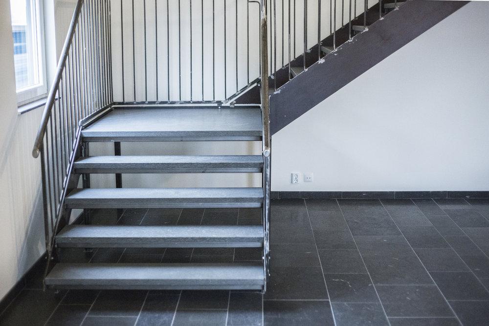 Trappor: Rustik grå jämtland ::: Stairs: Rustic grey Jämtland