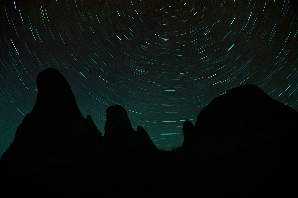 Alabama Hills, Midnight