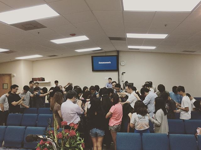 laying hands on and lifting prayers up for mrs cha, gabriel and chris as they take the next steps in life in His providence.  go with God!
