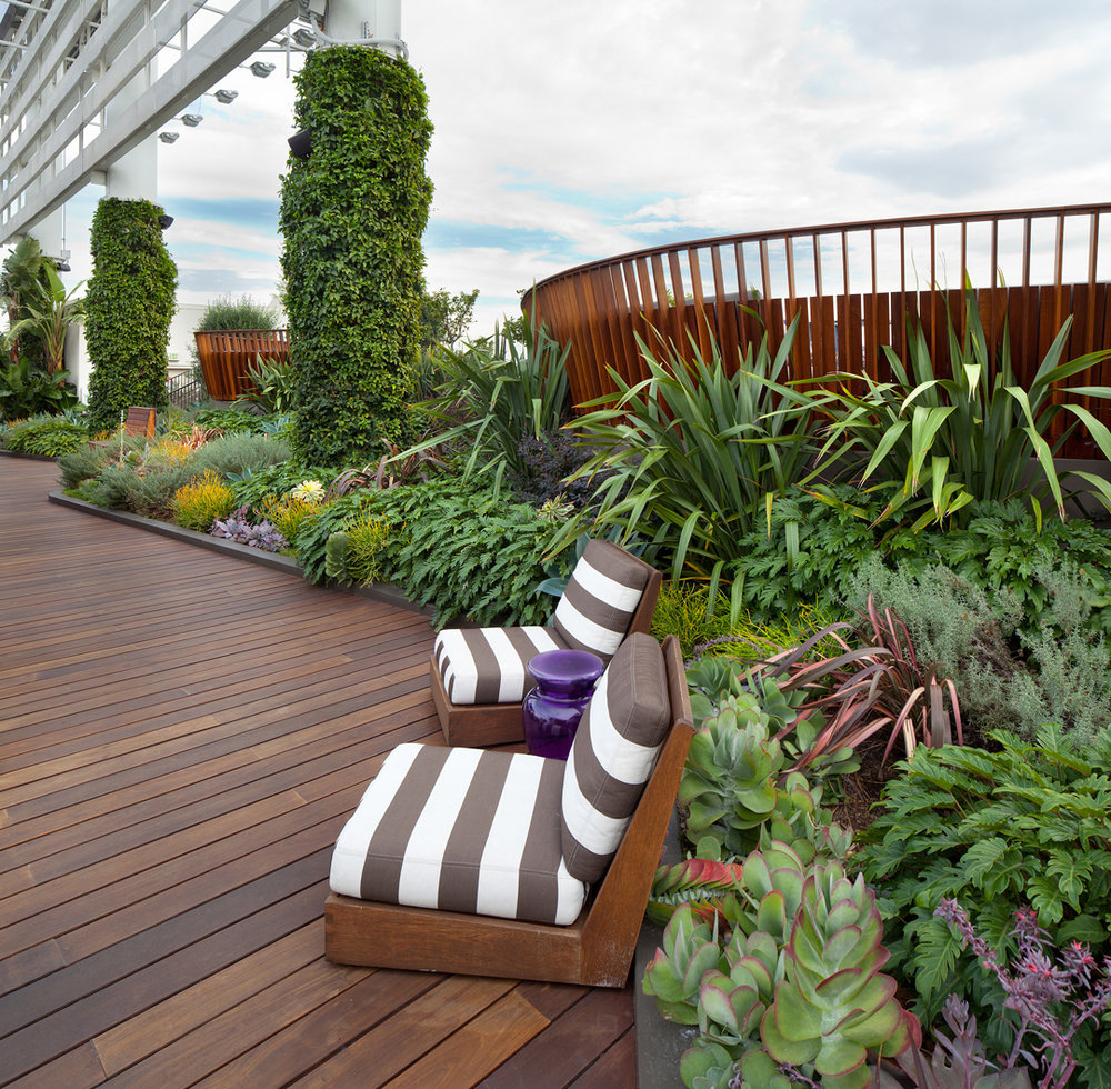 Hollywood & Vine W Residences Roof Deck