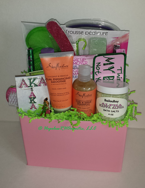 $65 Personalized Sorority Gift Baskets ...
