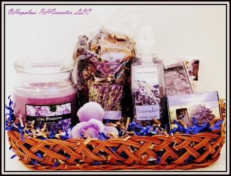 Lavender Aromatherapy Gift Basket & Gift Baskets u2014 Hopeless RHOmantic LLC