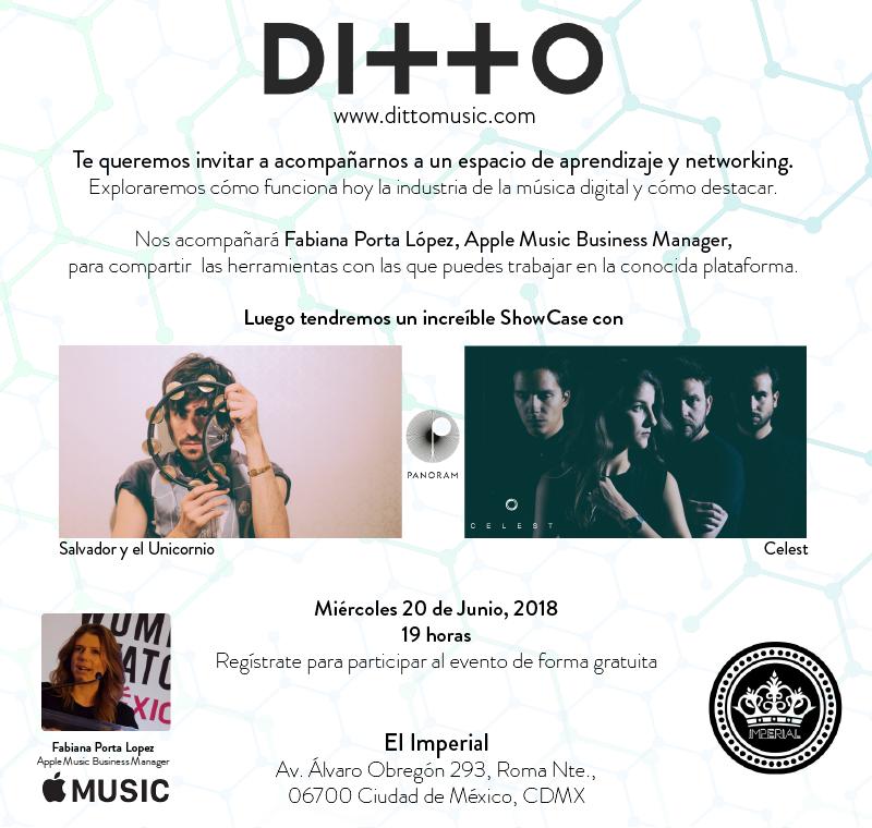 Discos Panoram y Ditto Music te invitan a conocer más de la