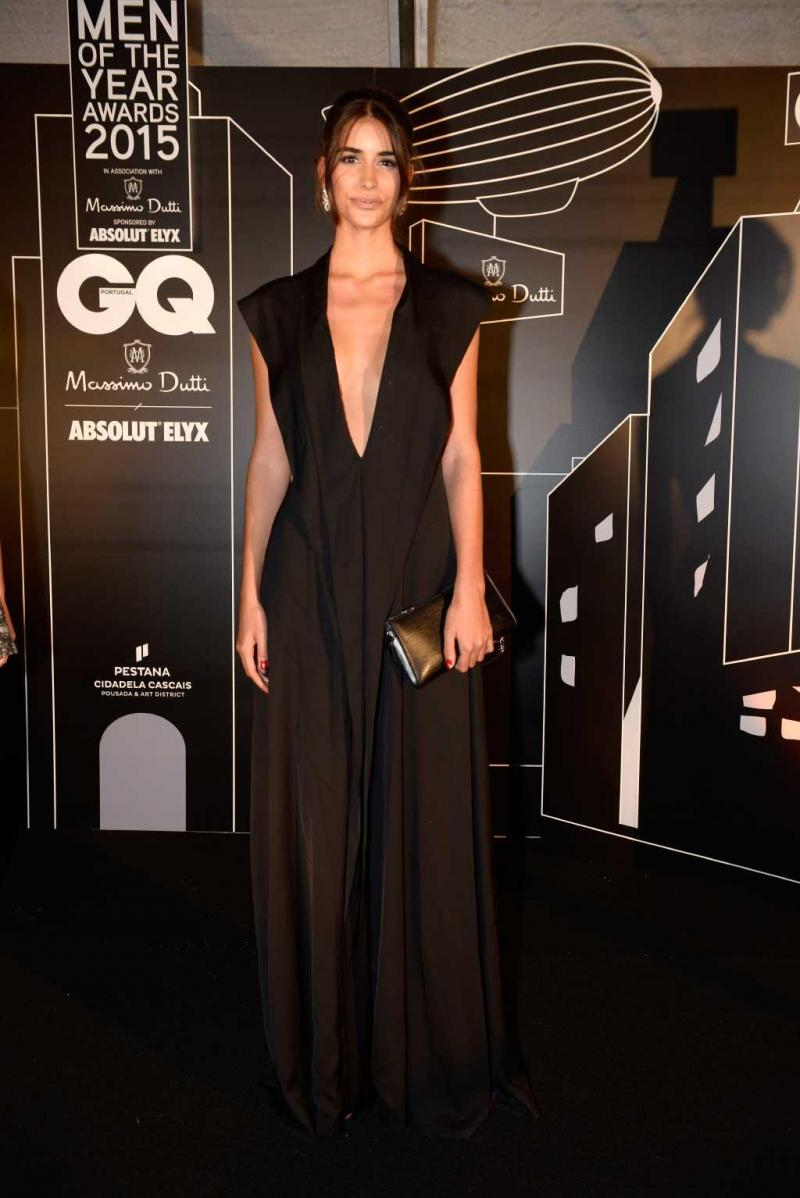 Francisca Perez, gala GQ Man of the year 2015, Outubro 2015