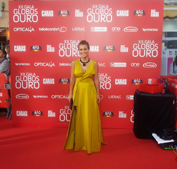 Liliana Santos, Globos Ouro, Maio 2015