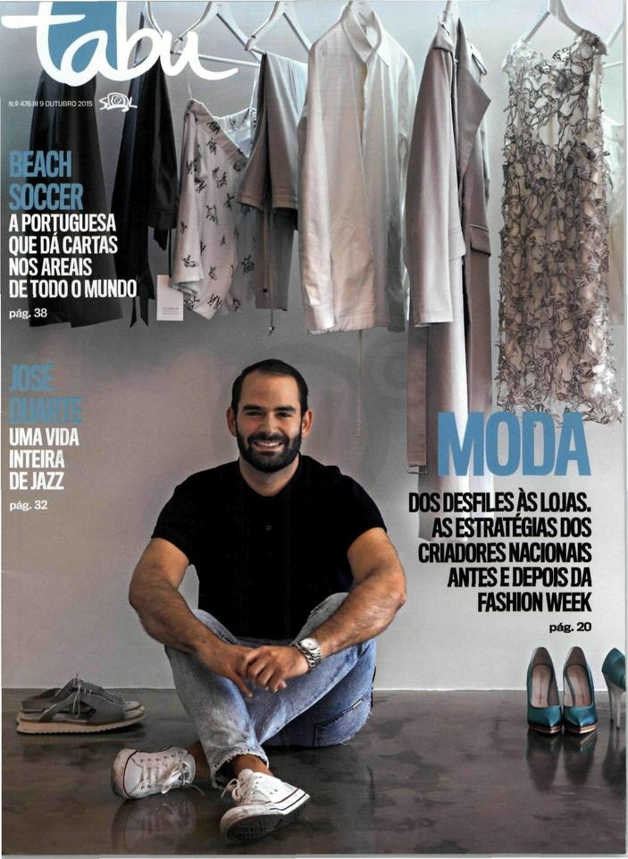 TABU, capa-Outubro 2015