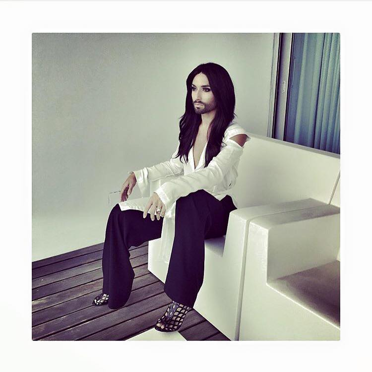 Conchita Wurst, August 2015