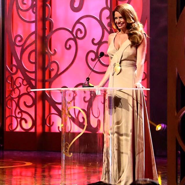 Bárbara Guimarães, Gala Coração de Ouro, Setembro 2015