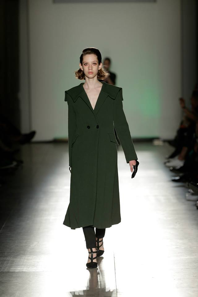 Green Overcoat   Three available sizes 36/38/40. Original Price 392€ | Discount Price 196€ Ref. LCFW1503  *shoes are also available for sale