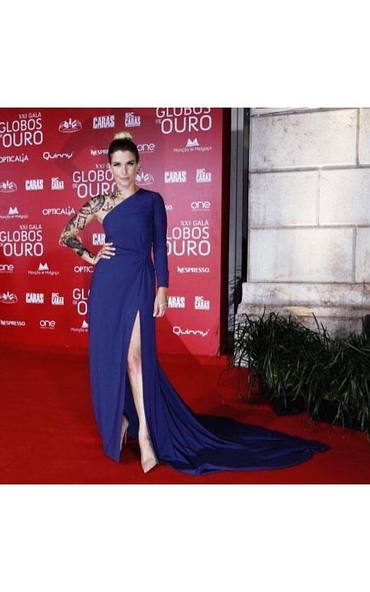 Inês Castel-Branco, Gala Globos Ouro, Maio 2017
