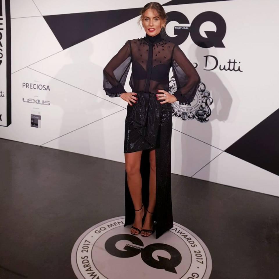 Liliana Santos, GQ Gala, Novembro 2017