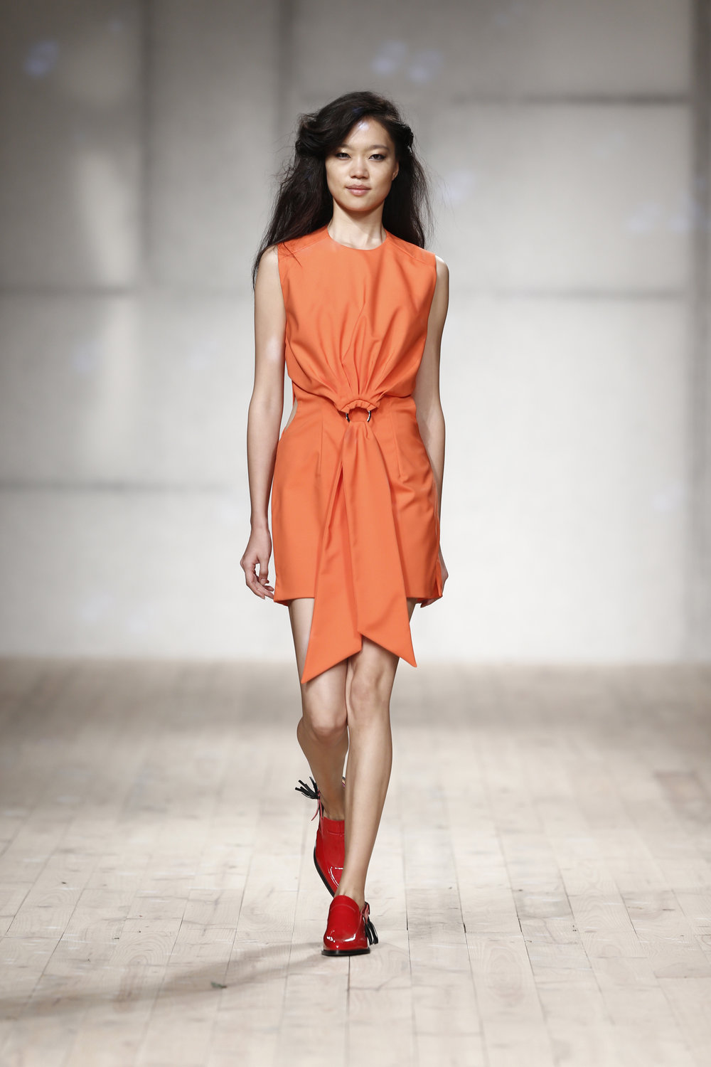 coral ring short dress  One available size 36 Original Price 440€ | Discount Price 220€ Ref. LCss17s26