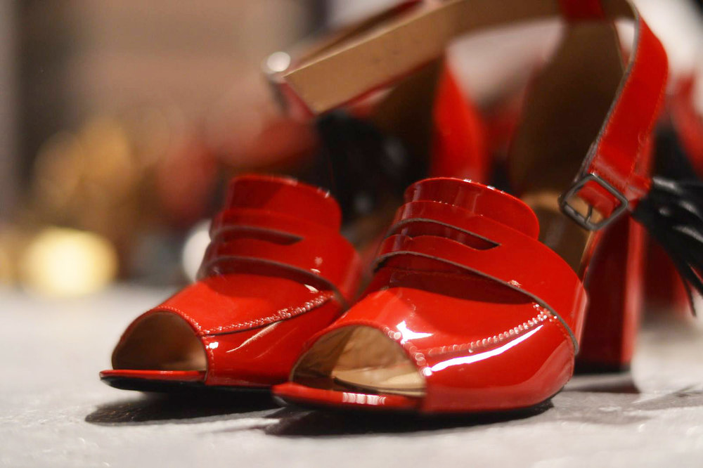 red high heel sandals  available size 40 Original Price 99€ | Discount Price 49€