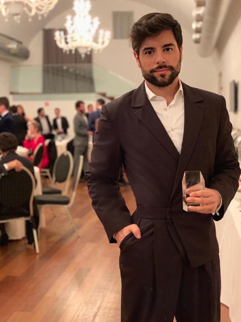 Pedro Carvalho, Prémios Embaixadores 2018 Portuguese & Brazilian Awards