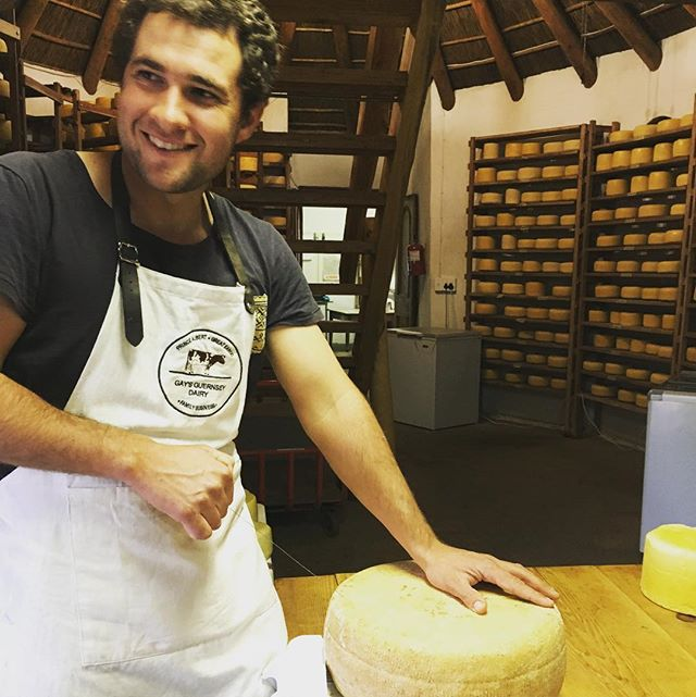 12 month old Parma Prince ready to be enjoyed #parmesan #gaysguernseydairy #southafricancheeses #rawmilk #guernseycows #princealbert #karoo