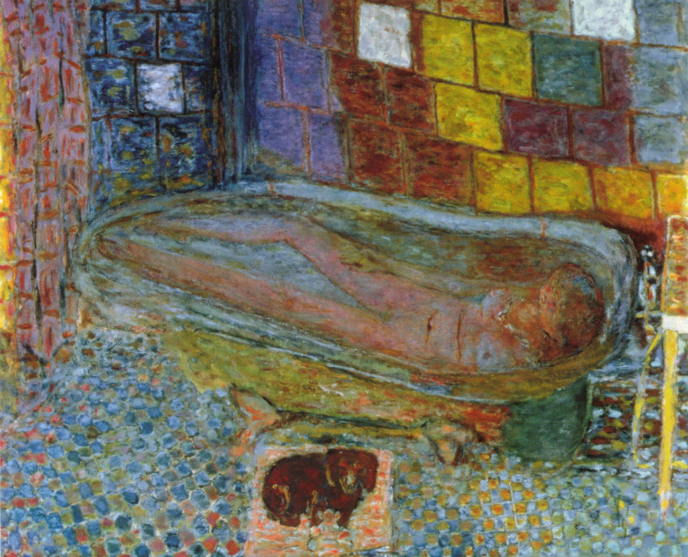 Pierre Bonnard   Nude in the Bath   1941-6   oil on canvas