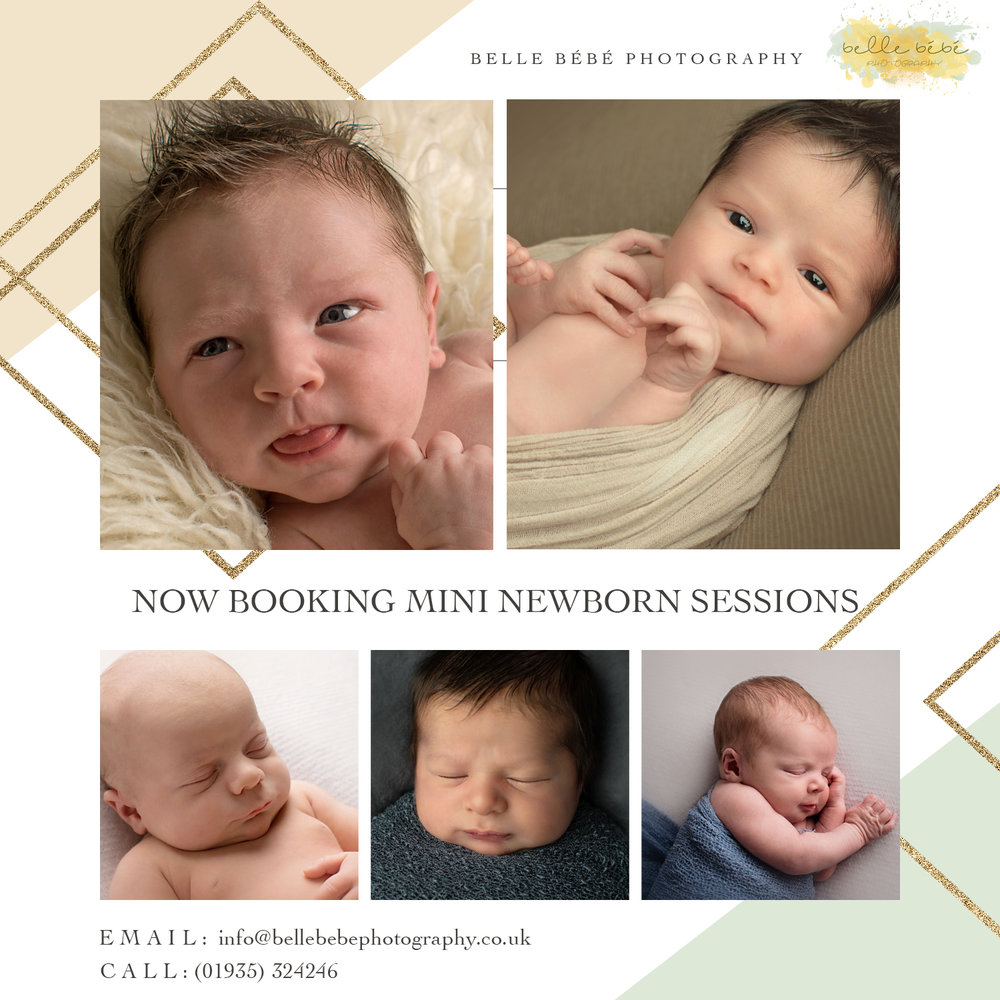 Newborn Mini Sessions in Yeovil, Somerset