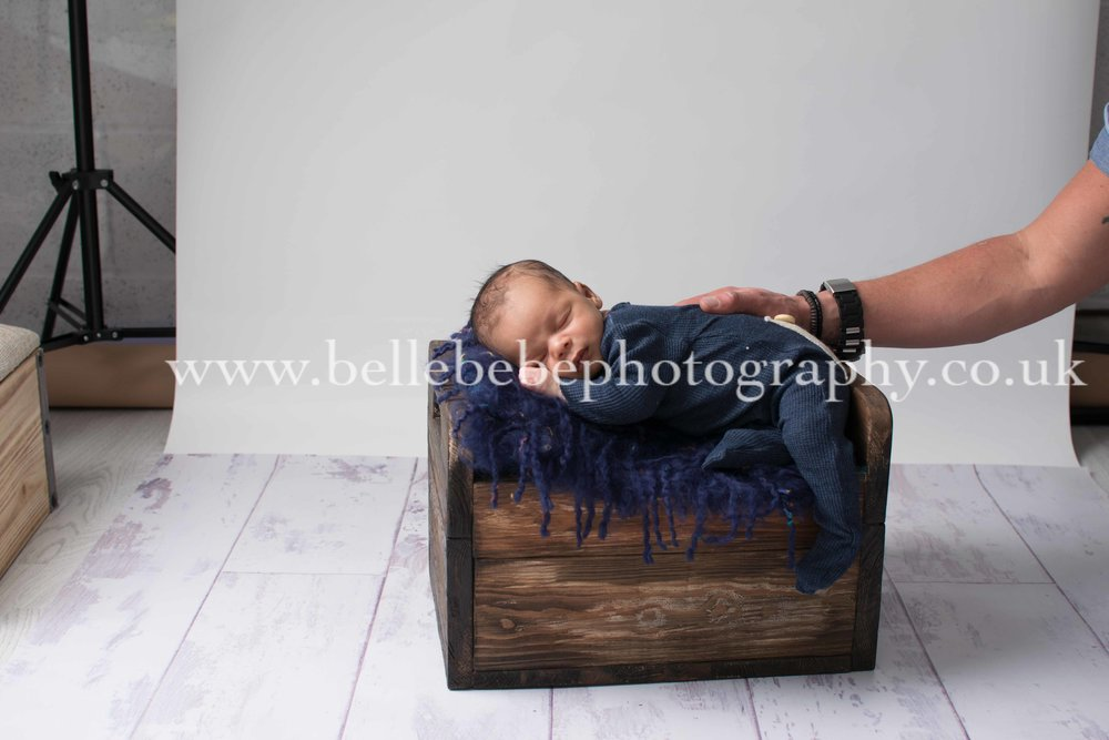 newborn photography royal navy baby in yeovil somerset