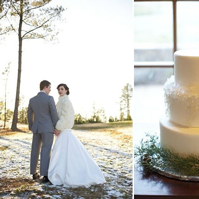 Remembering this pretty winter wedding shoot today #tbt photography @liveviewstudios makeup @kmichelleclark