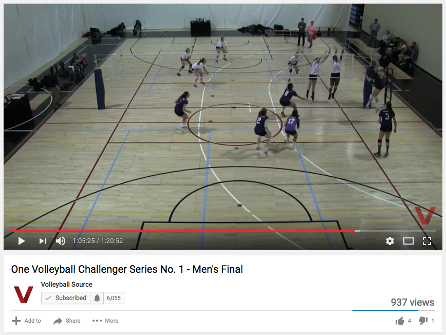 Challenger no.1 final was live-streamed through YouTube