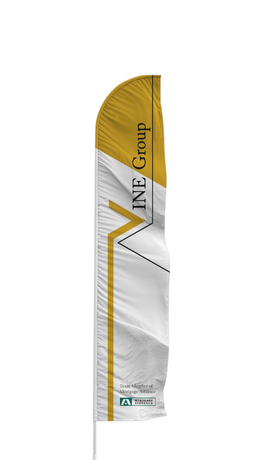 Sample feather entry banner