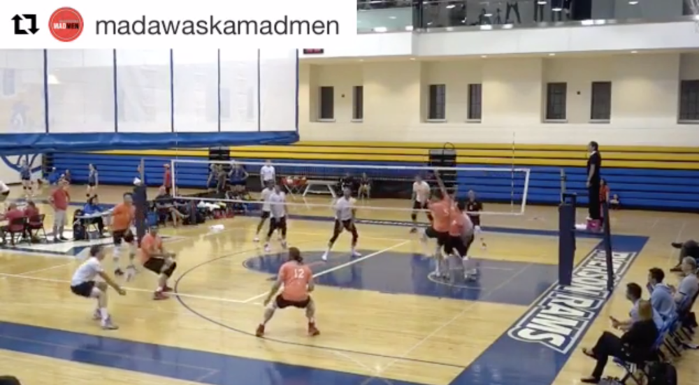 Erik Mattson wowed the crowd week after week with his amazing defensive abilities. Click to view this crazy rally from the Premier League on instagram.