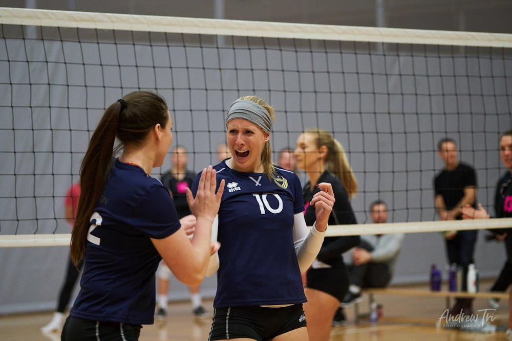 Errea has already made an impact through their relationship with Unity Volleyball Club and their women's team Unity Reign.
