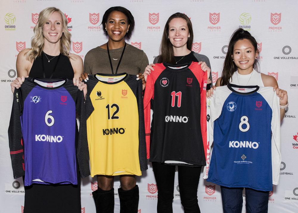 2018 women's Premier League jerseys