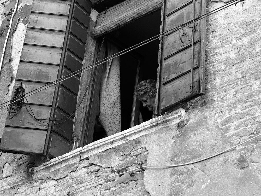 Open Window, Venice