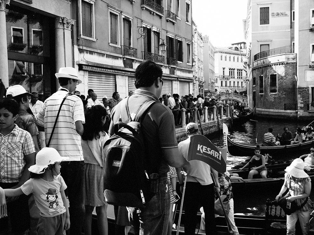 Gondola Romance, Venice