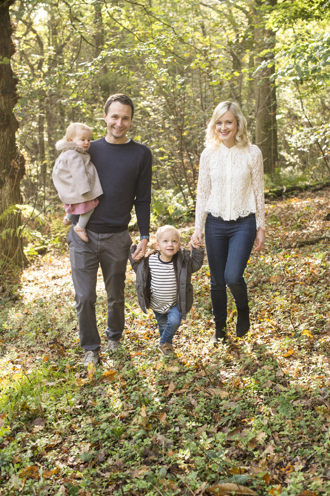 sussex family autumn shoot