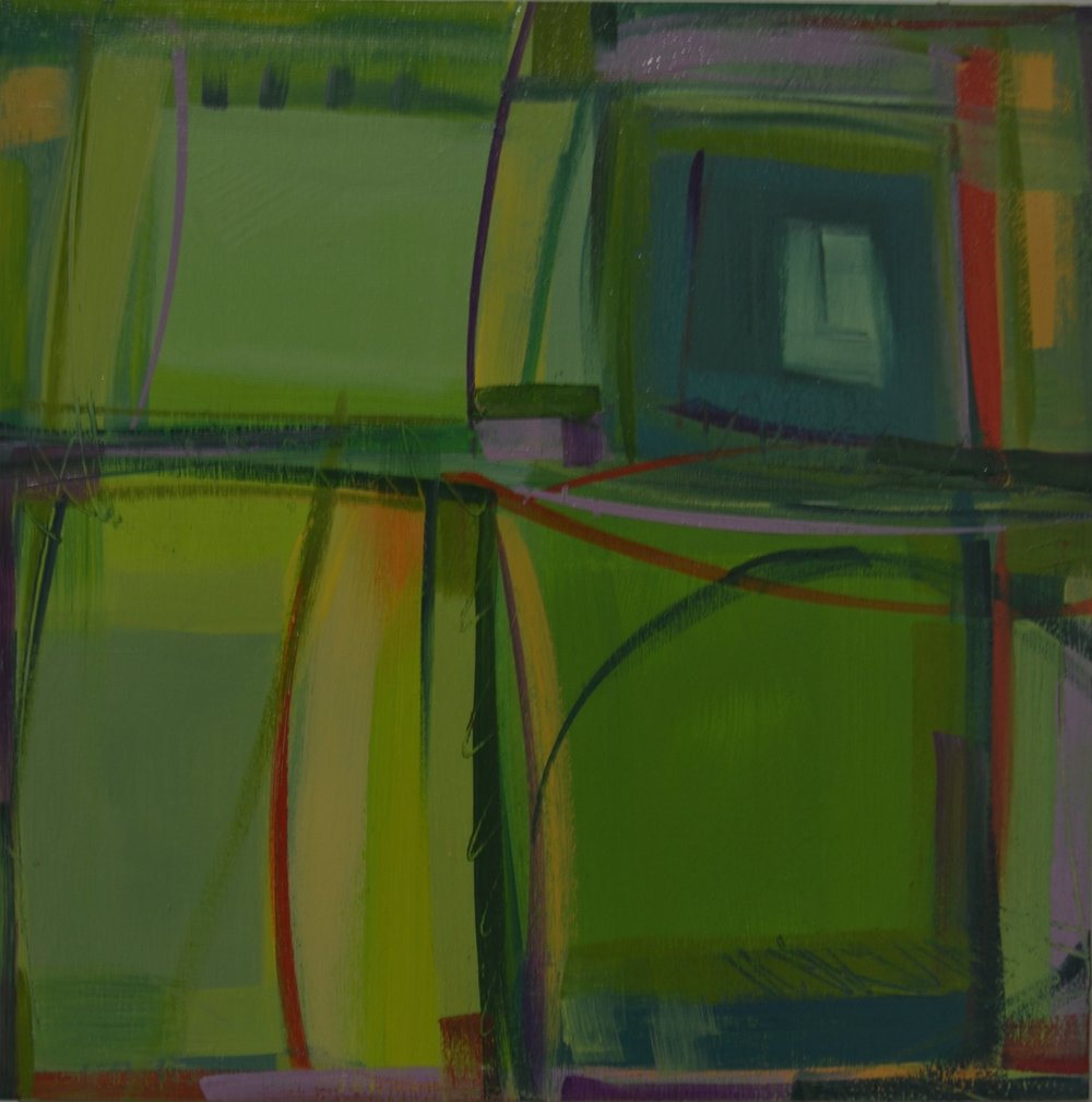"""Above Green Fields"" No. 6, 2016"