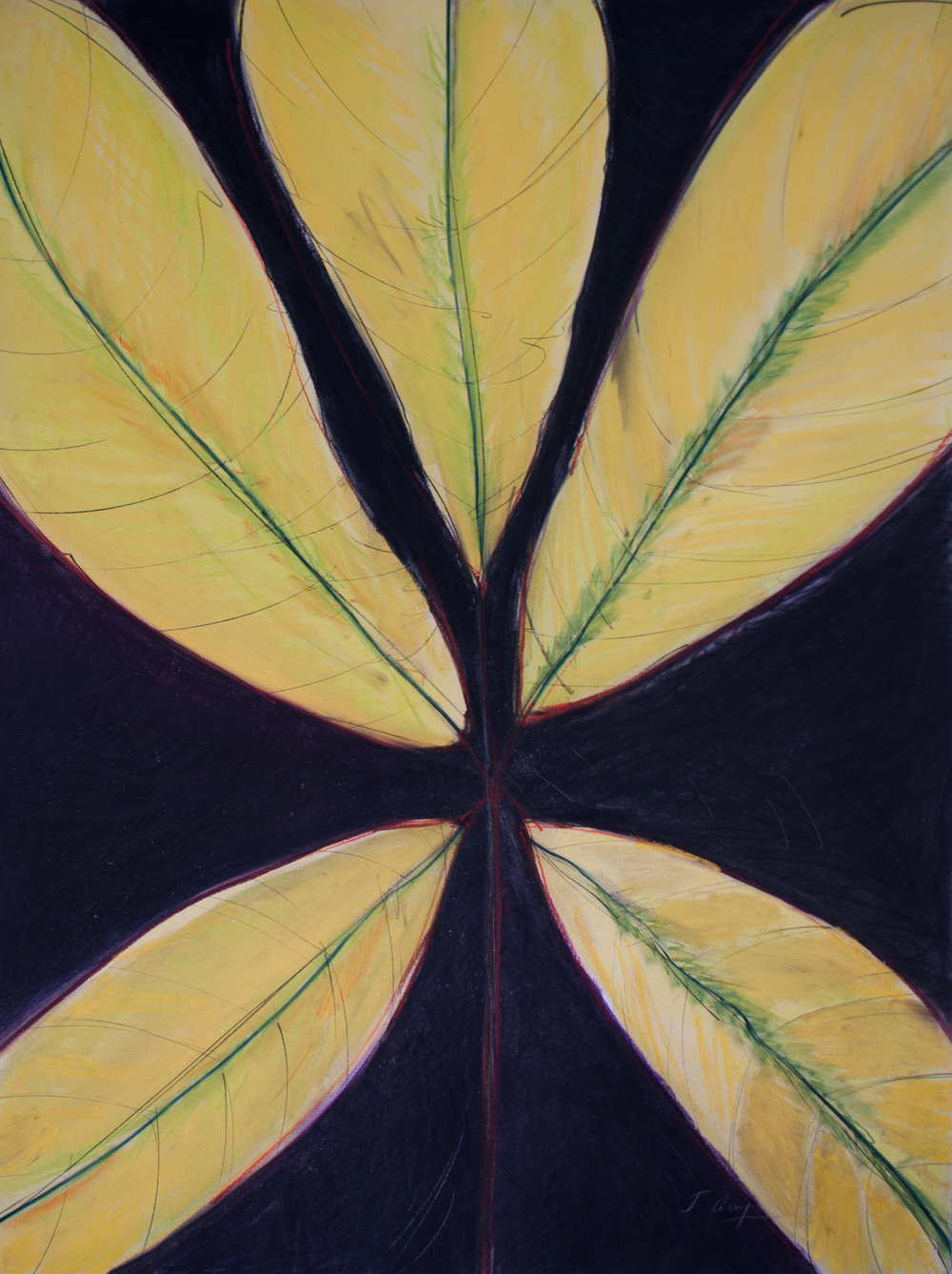 """Yellow Leaf"", 2013"