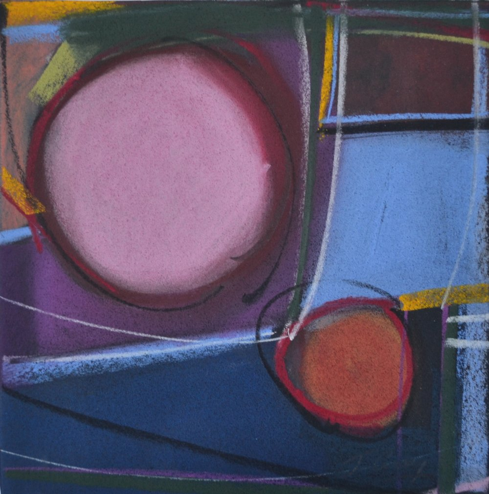 """Pink and Red Moon"", 2015"