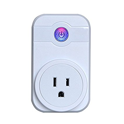 Cage Sents Wi-Fi Smart Socket,Wireless Smart Plug Power Switch ...