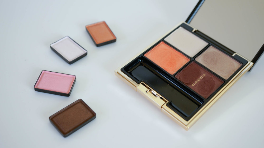 SUQQU Blend Color Eye Shadow Sakuraori & Designing Color Eyes 02 Hikaritouka