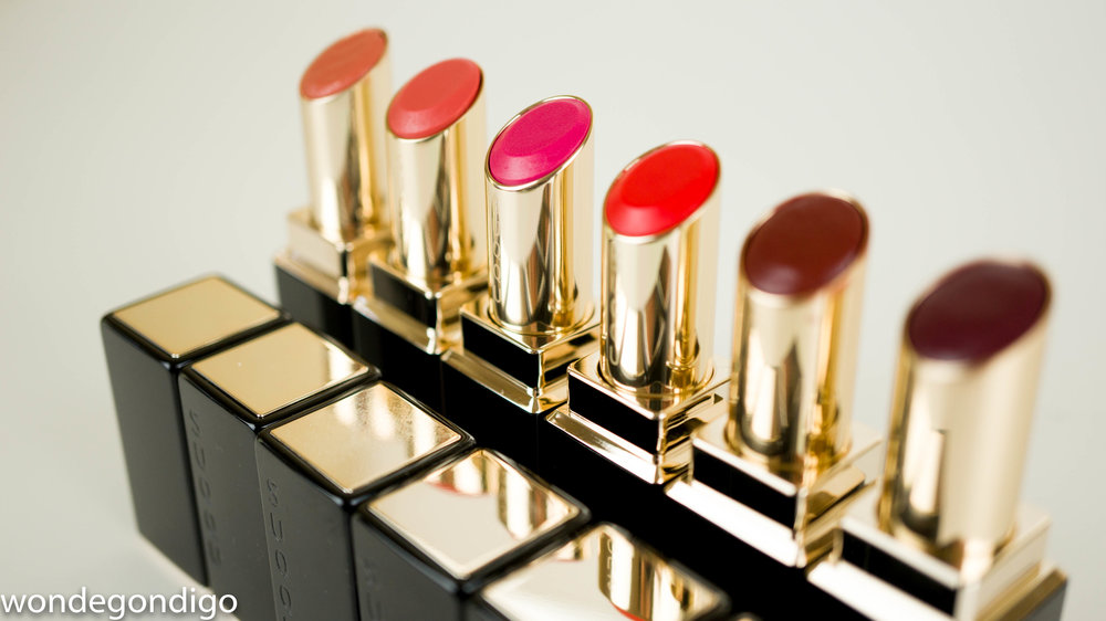 SUQQU Moisture Rich Lipsticks
