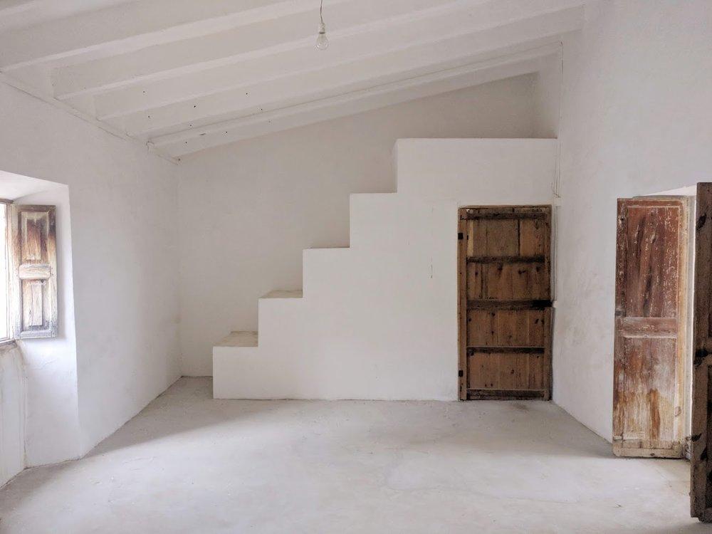 Tramuntana house Biniamar, Mallorca House renovation, ongoing
