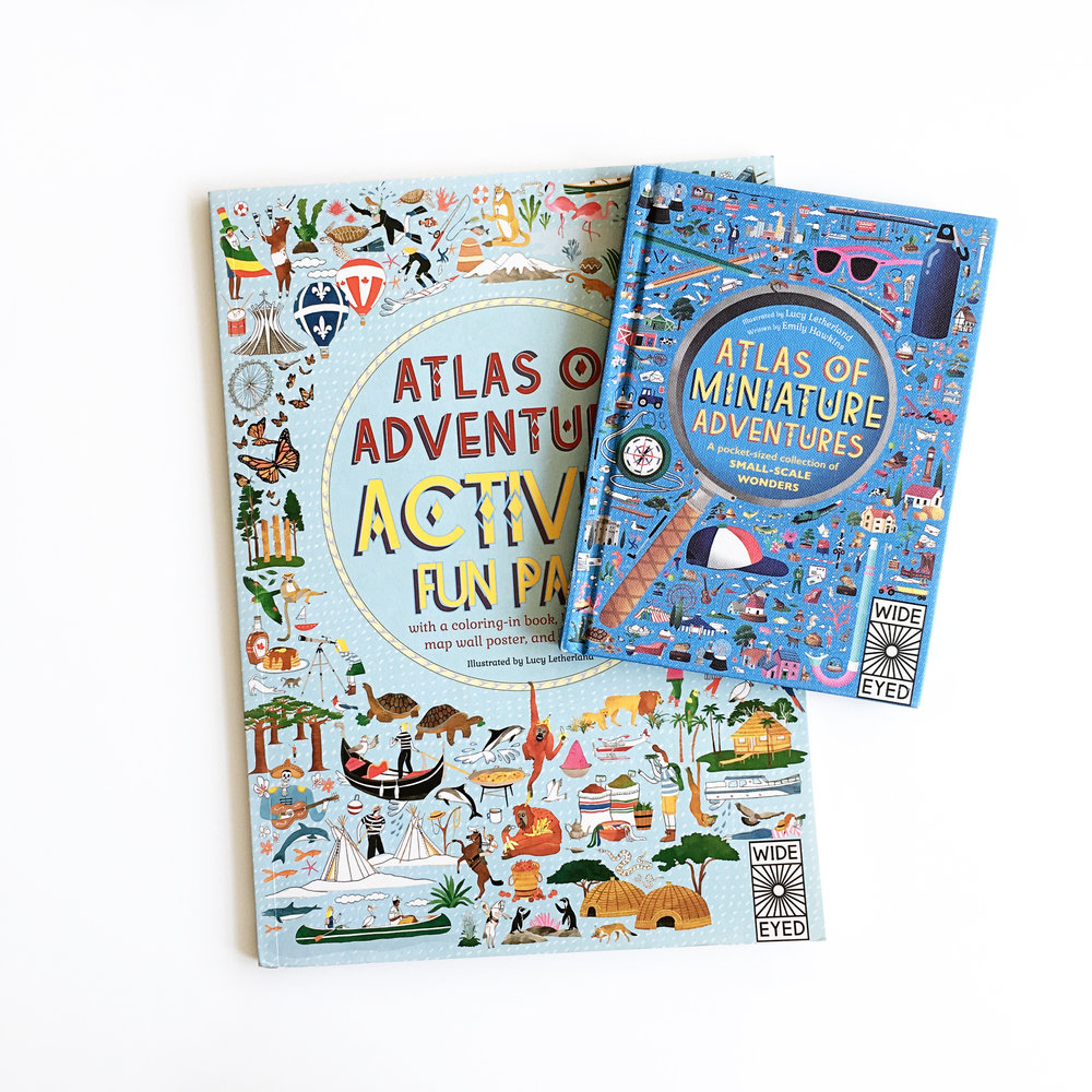 Atlas of Miniature Adventures and Atlas of Adventures Activity Fun Pack | Little Lit Book Series