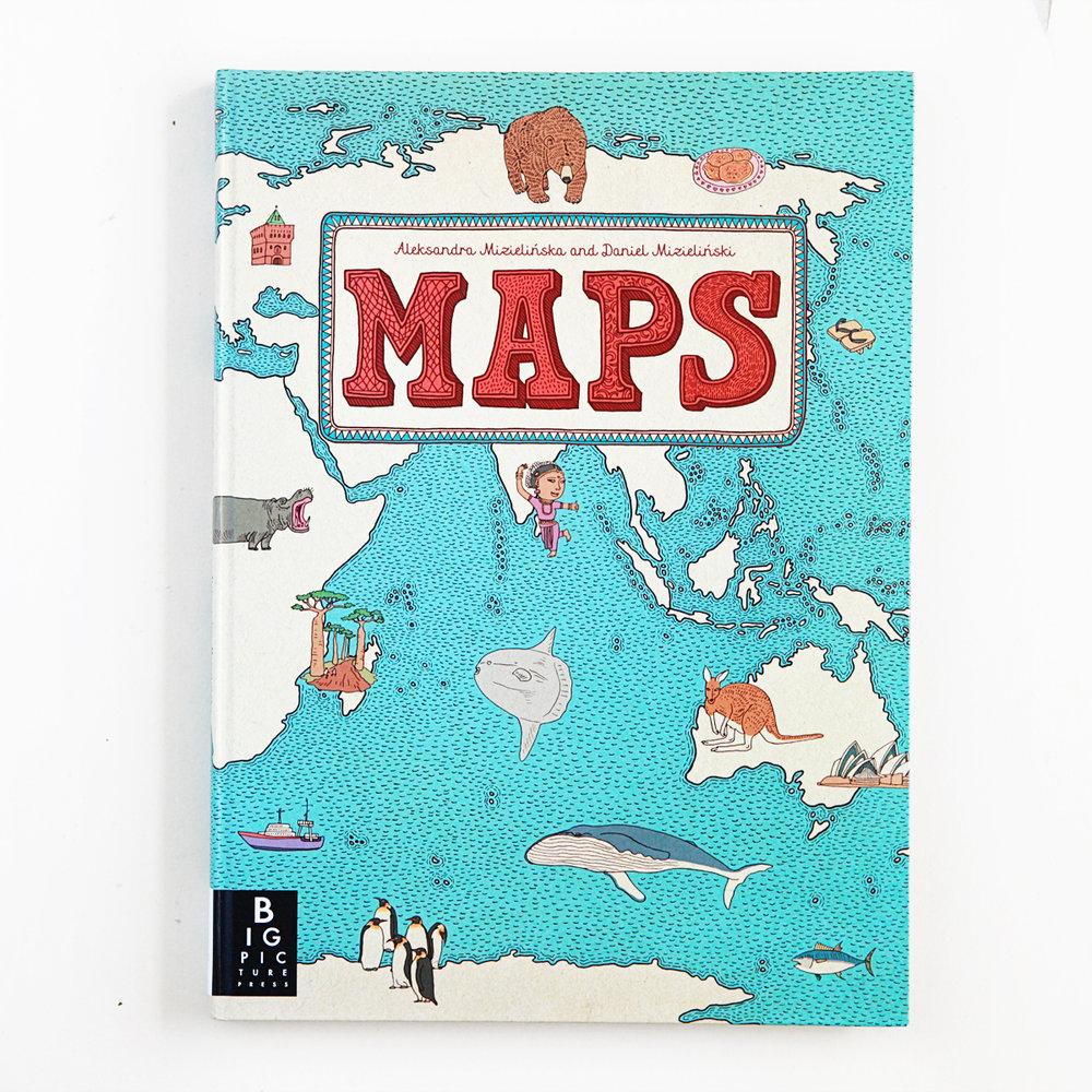 MAPS | Little Lit Book Series